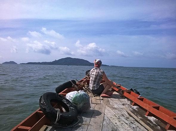 Bootsfahrt nach Kep