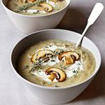 Kartoffel-Pilz-Suppe